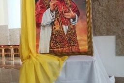 POŚWIĘCENIE OBRAZU ŚW. JANA PAWŁA II